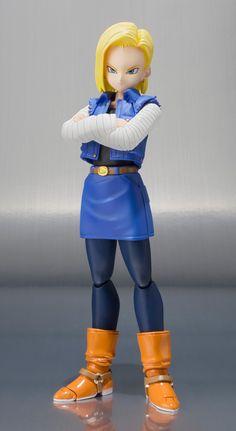 Dragon Ball Kai - Ju-hachi Gou (Android 18) - S.H.Figuarts (Bandai)