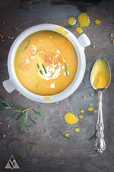 Pumpkin Soup with Coconut & Ginger | The Little Pine