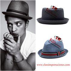 Bruno mars un hombre con gran estilo al igual que sus sombreros por lo que  se caracteriza 1a6ef29cd7d