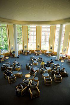 1st Floor Rotunda at the Valley Library, Oregon State University  Rotunda (by INTOoregonstate, via Flickr)