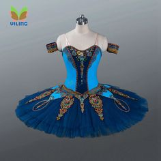 Azul clássico platter ballet profissional tutus para meninas, Adulto panqueca desempenho considerando a concorrência trajes de bailarina(China (Mainland))