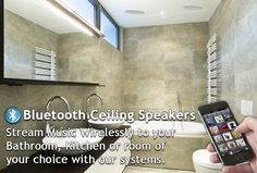 Bluetooth Ceiling Speaker Systems From Cleverstuff
