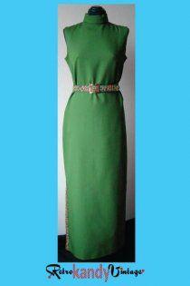1970's Vintage Dutchmaid Maxi Dress