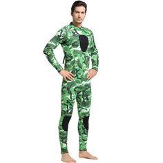 Sbart Camouflage Wetsuit - 3mm
