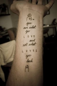 tattoo love quotes