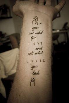 tattoo love quotes