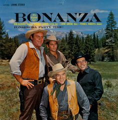 Bonanza: Ponderosa Party Time! Sunday night family event at our house.