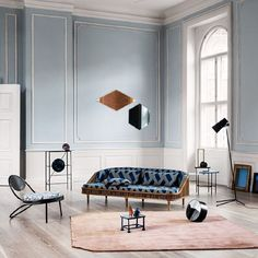 Blue Note and beautiful Decor in RUM, styling by @pernille.vest and photo by @heidilerkenfeldt.