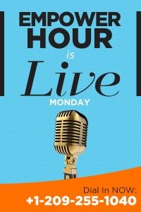 Your legitimate work from home opportunity begins here! Empower Hour LIVE at ET Mondays - discover how to build your business. Click the pin to join in! Or dial in: Legitimate Work From Home, Message Of Hope, Work From Home Opportunities, Make A Change, Stay Focused, The Life, Helping People, Internet Marketing, Leadership