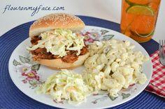 easy, crock pot, pulled pork, sandwiches, summer,