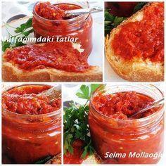LUTENİTSA ( Kahvaltılık sos) Yemelere doyamayacağınız Bulgaristan 'a ait b...