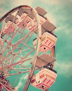 Right about now, we could use a Ferris wheel ride, can't you?