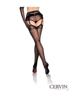 Wintery weather doesn't stop stylish women from wearing stockings, especially when there are delicious 45 denier fully-fashioned ones available from luxury manufacturer Cervin in stock.