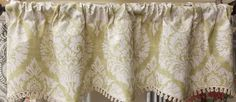 "Provincial Provance Valance in Citrus. 51'wx16""l $79.99. To Order Call toll-free 877-722-1100"