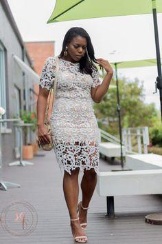 Lovely in lace! SHOP my look here - www.Aubreyjackson.com