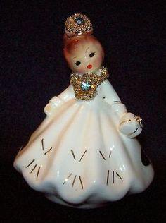 porcelains Vintage girl