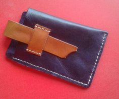 My Leather Work..... Real leather. Hand crafted, hand stitched. Mobile phone cover.