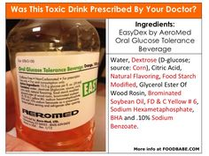Glucose Test Gestational Diabetes  Why is this drink still prescribed by the doctors to test glucose in pregnant woman??