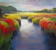 Verstild landschap bij Oudemolen   schilderij van een landschap in olieverf van Hans Musters   Exclusieve kunst online te koop bij Galerie Wildevuur