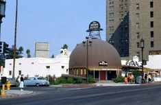NIGHTCLUBS & RESTAURANTS:  THE BROWN DERBY RESTAURANT:  3377 Wilshire Boulevard, Los Angeles, CA  90010.  Photo taken in 1954.