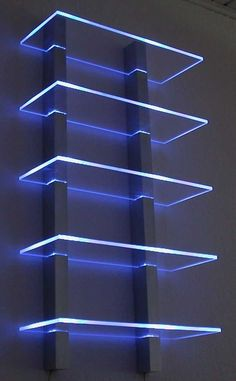 led regaleled regaleled regale led regale The Effective Pictures We Offer You About rustic Game Room Design A quality picture can tell you many things. Bedroom Setup, Room Ideas Bedroom, Neon Bedroom, Boys Bedroom Decor, Bedroom Wall, Wall Shelves Design, Glass Shelves, Glass Wall Design, Bar Shelves