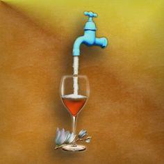 Water bij de wijn doen (= toegevingen doen / zijn eisen verzachten / minder hoge eisen stellen / een compromis proberen te sluiten) & E: to compromise / to make a settlement / to make a compromise / to lower one's standards / to make concessions / to climb down / to try to dilute the situation / to eat humble pie & F: mettre de l'eau dans son vin & D: Wasser in den Wein gießen & S: echar agua al vino & I: abbassare la cresta / abbassare le ali / calare la cresta / diluire il vino con…