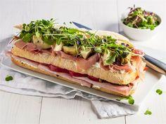 Moderni lihavoileipäkakku Ciabatta, Pesto, Sandwiches, Tacos, Appetizers, Mexican, Ethnic Recipes, Food, Drinks