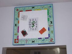 Made from old clock parts - HOME SWEET HOME - So this is a personal project that I've been working on for the past couple of weeks, and now it is finally complete. It is a monopoly game board that Craft Tutorials, Craft Projects, Monopoly Board, Clock Parts, Old Clocks, Craft Patterns, Board Games, Activities For Kids, Sweet Home