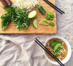 30 min pho (sub tofu)