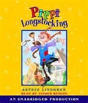 The Pippi Longstocking books were written by Astrid Lindgren.  Pippi, a sea-captain's daughter, comes to live in a small swedish village, next door to Tommy and Annika, whom she befriends.  Pippi lives with her monkey and her horse, but no adults.  She has fiery red hair, is unusually strong and doesn't attend school!