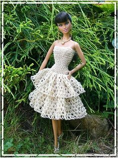 #barbie #crochet #clothes [hanneton] 46.2.13 qw