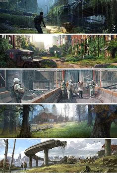 The Last of Us + concept art