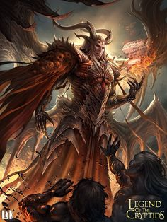 Juez del infierno evolved legend of the cryptids