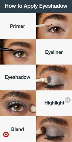 Looking for eye makeup ideas? Try this eyeshadow tutorial. With these makeup tips, it's easy to get a smokey eye, natural eye or bold, colorful looks for blue eyes or brown eyes. Affordable Makeup for Sensitive Skin Makeup Tips For Women In How To Apply Eyeshadow, Eyeshadow Primer, Eyeshadow Ideas, Applying Eyeshadow, Makeup Eyeshadow, Blue Eyeshadow, Eyeshadow Palette, Applying Makeup, Eyeshadow Tutorial Natural