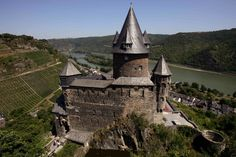 Bacharach Castle Hostel. We've never hostelled, so this might be a fun option.