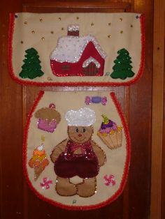All Things Christmas, Christmas Time, Christmas Crafts, Christmas Decorations, Holiday Decor, Christmas Aprons, Christmas Stockings, Christmas Paintings, Gingerbread