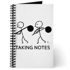 Taking Notes Journal