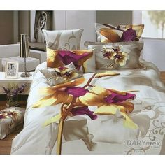 3D cotton bedlinen ORCHID, more on darymex.com