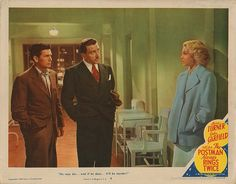 Lobby Card from the film The Postman Always Rings Twice