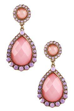 Pink Drop My Earrings