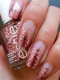 Nail Nail Polish Designs, Nail Designs, Beauty Tips, Beauty Hacks, Nails Shape, Glitter Nail Art, Nail Nail, Mani Pedi, French Nails