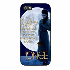 Once Upon A Time Belle Full Moon iPhone 5/5s Case
