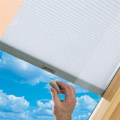 Top Hung Roof Window - Integral Blind | Keylite Roof Windows | http://www.keyliteroofwindows.com/top-hung