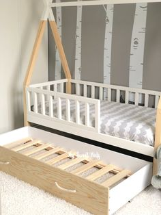 Cute Room Decor, Baby Room Decor, Big Girl Rooms, Baby Boy Rooms, Room Ideas Bedroom, Baby Bedroom, Best Bed Designs, Toddler House Bed, Indian Bedroom Decor