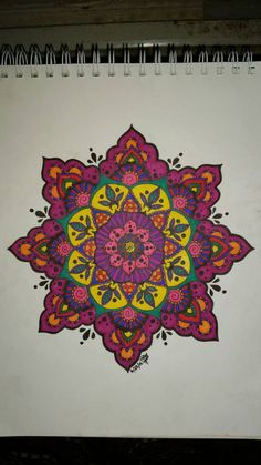 Mandala 1 by roguewyndwalker