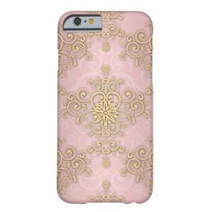 Shop Girly Pink And Gold Damask Pattern Case-Mate iPhone Case created by MHDesignStudio. Iphone 6, Iphone Cases, Valentines Gifts For Her, Mobile Cases, 6 Case, Other Accessories, Damask, Pink And Gold, Monogram