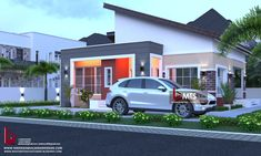 #Architecture #Nigerianbuildingdesigns #MastersTouchStudios #Homes #House #Nigeria #bungalow #beauty #fine #Design #Exterior #Modern #HouseDesign #HomeDecor #HouseStyles #HouseExterior #love #pinterest #beautiful #nice     2 Bedroom Bungalow design    Minimum size of land is 50ft by 50ft.     Contact +2348032582385, +2348174058017 (Calls and Whatsapp) E mail: Masterstouchstudios1@gmail.com Small House Design, Studio S, Building Design, House Plans, Places To Visit, Exterior, Bungalow Designs, How To Plan, Mansions