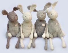 This Little Jack Rabbit faithful accompany you throughout the day and at night. You are responsible for all the big or small ones who need a bit of