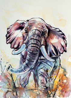 Elephant by kovacsannabrigitta on DeviantArt