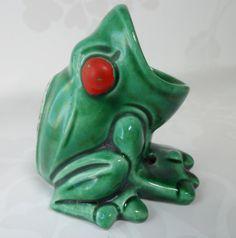Jeremiah Was a Bullfrog.....................KISVTEAM Wacky Wednesday  by Christie S on Etsy